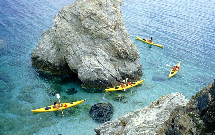 Kayak all'Elba